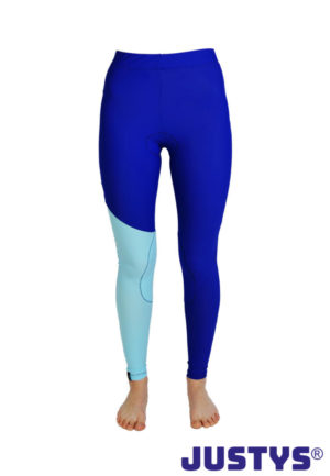 JUSTYS® - Competition Sondermodell Blue-Turquoise Distanzreithose